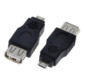 ADATTATORE OTG USB (F) A MICRO USB (M) PER SMARTPHONE