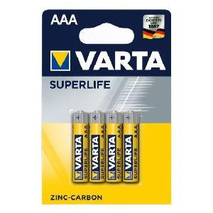 BATTERIE ALCALINE MINISTILO SUPERLIFE AAA CONF.4 PZ