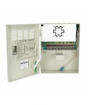 BOX ALIMENTATORE PER TELECAMERE (VS-CS1218-20A-BK) 12V 20A 18 CANALI