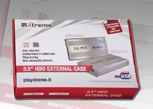 BOX ESTERNO 3.5 (29010) SATA USB 2.0 SILVER