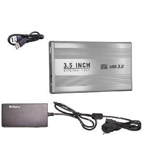 BOX ESTERNO 3.5 (29015) SATA USB 3.0 SILVER