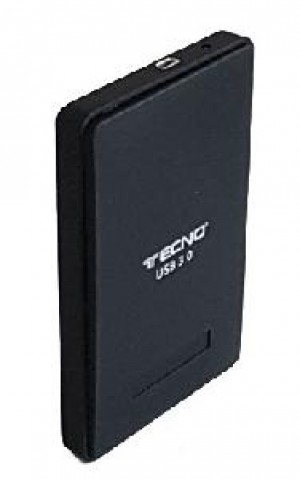 BOX ESTERNO PER HD 2,5 SATA USB 3.0 (TC-302U3) NERO