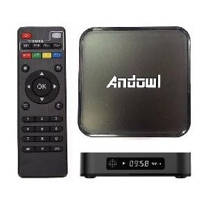 BOX SMART TV MEDIAPLAYER ANDOWL Q-M6 4GB RAM 32GB ROM 4K