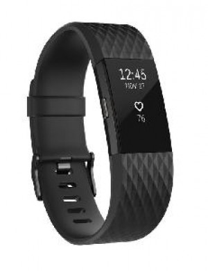 BRACCIALE FITNESS FITBIT CHARGE 2 - NERO