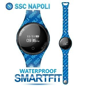 BRACCIALE SMART TM-FREETIMENAP-WRIT SSC NAPOLI  BLU