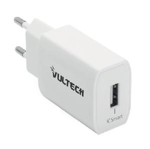 CARICATORE 1 USB 2,4A 12W BIANCO (CC-112WH)