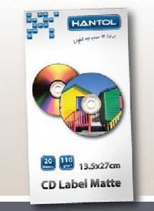 CARTA FOTOGRAFICA A4 110 GRAMMI CD LABEL (HPA4LCD110)