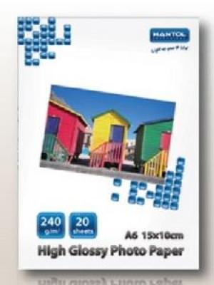 CARTA FOTOGRAFICA A6 240 GRAMMI (HPA6G240)