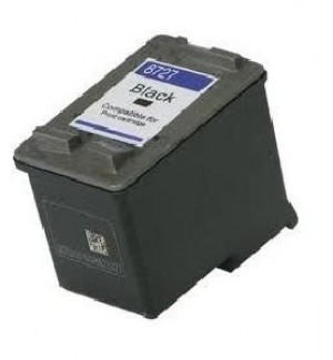 CARTUCCIA COMPATIBILE HP 27 BK NERO