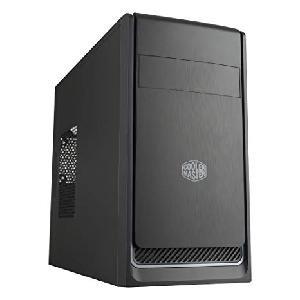 CASE MASTERBOX E300L RED (MCB-E300L-KN5N-B00) NO ALIMENTATORE