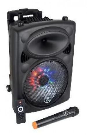 CASSA AUDIO DIFFUSORE BOX A LED AMPLIFICATO PICKY 10 - 500W PMPO