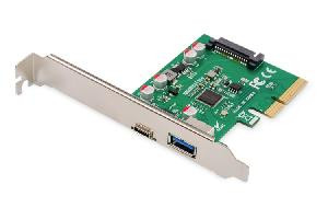 CONTROLLER PCI-EXPRESS + USB TYPE-C + USB TYPE -A (DS-30201-4)