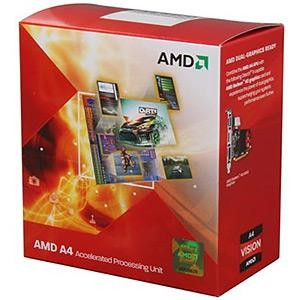 CPU A4-3300 FM1 BOX 2.5 GHz