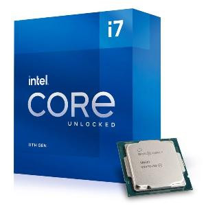 CPU CORE I7-11700KF (ROCKET LAKE) SOCKET 1200 (BX8070811700KF) - BOX (DISSIPATORE NON INCLUSO)
