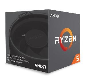 CPU RYZEN 5 1600 AM4 BOX 3.2 GHZ (YD1600BBAEBOX) CON DISSIPATORE