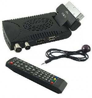 DECODER DIGITALE TERRESTRE BE-264B SET TOP BOX DVB-T2 SCART (BE-264B)