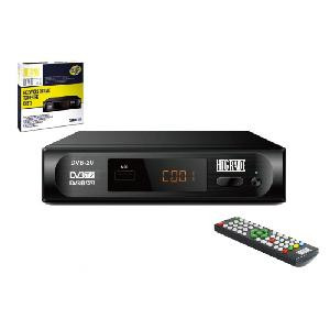 DECODER DIGITALE TERRESTRE DVB-20 HEVC H265 10 BIT