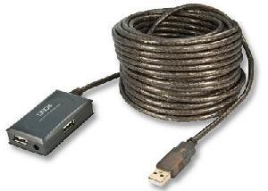 ESTENSORE DI LINEA USB LINDY FINO A 10 MT. (42630)