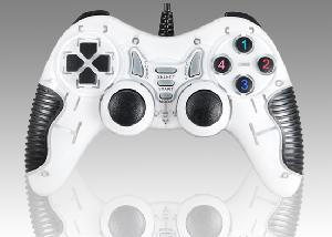 GAMEPAD JOYPAD FORCESHOCK USB 2.0 PER PC BIANCO (94271)