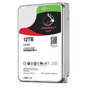HARD DISK 12 TB IRONWOLF SATA 3 3.5 NAS (ST12000VN0007)