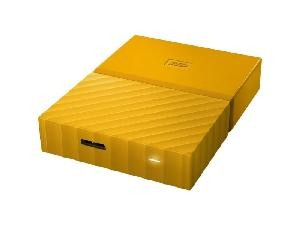 HARD DISK 2 TB ESTERNO MY PASSPORT USB 3.0 2,5 GIALLO (WDBS4B0020BYL-WESN)