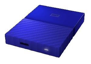 HARD DISK 4 TB ESTERNO MY PASSPORT USB 3.0 2,5 BLU (WDBYFT0040BBL-WESN)