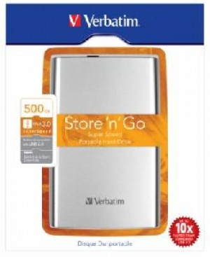 HARD DISK 500 GB ESTERNO USB 3.0 2,5 SILVER AUTOALIMENTATO