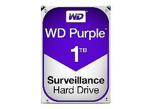HARD DISK PURPLE 1 TB SATA 3 3.5 (WD10PURZ)