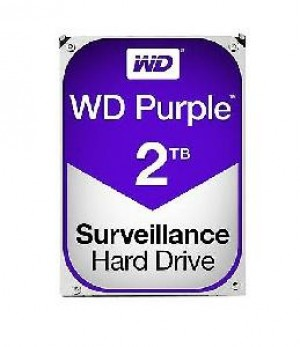 HARD DISK PURPLE 2 TB SATA 3 3.5 (WD20PURZ)