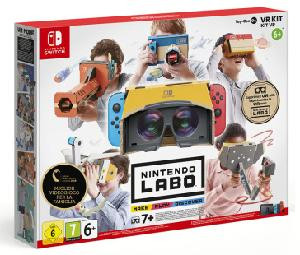 LABO VR KIT COMPLETO PER NINTENDO SWITCH