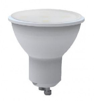 LAMPADA LED FARETTO GU10 5W 3000K LUCE CALDA 450L (GU10-315100C)