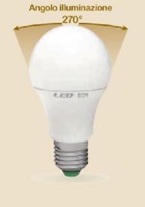 LAMPADA LED GOCCIA E27 10W CALDA 3000K (E2645C)