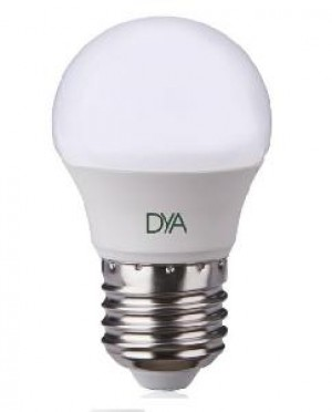 LAMPADA LED SFERA E27 6W LUCE CALDA 3000K (DYA-078)
