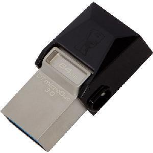 MEMORIA PEN DRIVE 64 GB USB 3.0 OTG (DTDUO364GB)