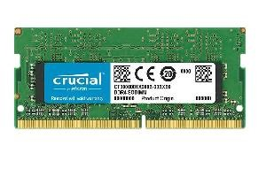 MEMORIA SO-DDR4 4 GB PC2400 (1X4) (CT4G4SFS824A)