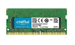 MEMORIA SO-DDR4 8 GB PC2400 (1X8) (CT8G4SFS824A)