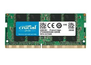MEMORIA SO-DDR4 8 GB PC2666 (1X8) (CT8G4SFRA266)