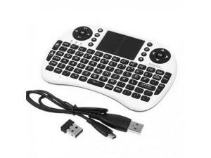 MINI TASTIERA WIRELESS TOUCHPAD MOUSE PER ANDROID TV BOX SMART PC NOTEBOOK