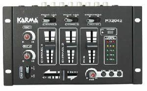 MIXER KARMA MX 2042 USB CON LETTORE USB