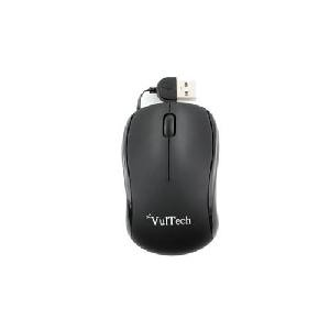 MOUSE MINI MN-01N NERO USB 1200DPI