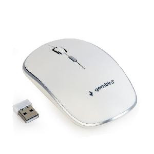 MOUSE WIRELESS BIANCO WIRELESS (MUSW-4B-01-W)
