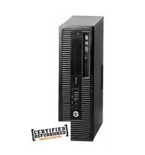 PC 800 G1 SFF INTEL CORE I7-4770 500GB 8GB WINDOWS 10 PRO (DA INSTALLARE UTILIZZANDO IL PRODUCT KEY SITUATO SULL'ETICHETTA) - RICONDIZIONATO - GAR. 12 MESI
