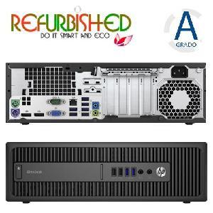 PC 800 G2 SFF INTEL CORE I5-6500 8GB 500GB WINDOWS 10 PRO - RICONDIZIONATO - GAR. 12 MESI