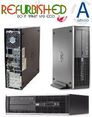 PC 8300 SFF INTEL CORE I7-3770 8GB 256GB WINDOWS 7 PRO - RICONDIZIONATO - GAR. 6 MESI