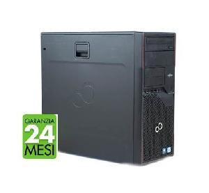 PC FUJITSU P710 MT INTEL CORE I5-3470 4GB 240GB SSD WINDOWS 10 PRO + KASPERSKY INTERNET SECURITY - RICONDIZIONATO - GAR. 24 MESI