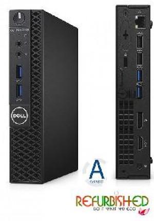 PC OPTIPLEX 3040 INTEL CORE I3-6100T 4GB 500GB WINDOWS 10 PRO - RICONDIZIONATO - GAR. 12 MESI