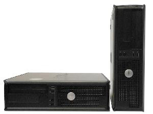 PC OPTIPLEX 755 DT INTEL CORE2DUO E4400 2GB 80GB DVD - RICONDIZIONATO - GAR. 12 MESI