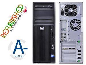 PC WORKSTATION Z400 TOWER INTEL XEON W3680 12GB 256GB+3TB - RICONDIZIONATO - GAR. 12 MESI