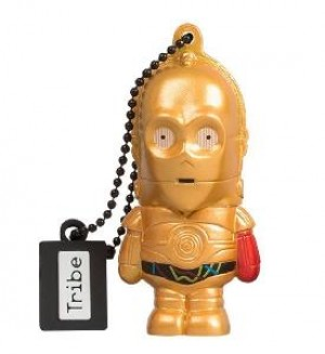 PEN DRIVE STARWARS TFA C-3PO 16GB  USB