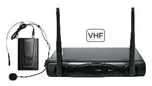 RADIOMICROFONO AD ARCHETTO VHF (SET 6080LAV-B)